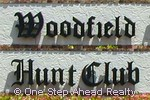 Woodfield Hunt Club community sign